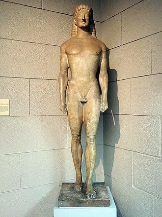 Tenea - Apollo of Tenea in the Pushkin Museum