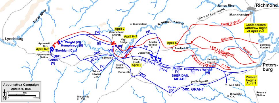 Appomattox Campaign Overview