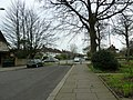 Approaching a dead end in the western part of St Lawrence Avenue - geograph.org.uk - 2343929.jpg