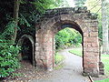 Arch from old St Michael's Church, Grosvenor Park, Chester - DSC08009.JPG
