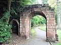Arch from old St Michael's Church, Grosvenor Park, Chester - DSC08009.JPG