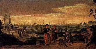 Arent Arentsz - Fishermen and Farmers, Rijksmuseum Amsterdam, 1625-1631