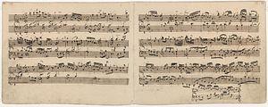 Burkard Schliessmann - Goldberg Variations, BWV 988, Aria Autograph