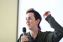 Ariel Glenn at Wikimania 2010.jpg