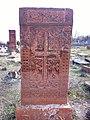 Arinj khachkar, old graveyard (28).jpg