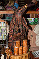 Armadillo wood carving and animal embossed leather bracelets - Redneck Country Club (2015-05-31 01.14.35 by Redneck Country Club).jpg
