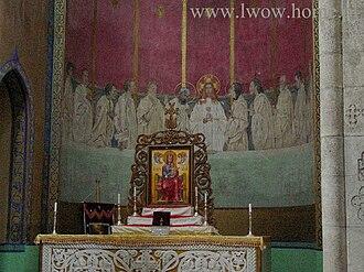 Jan Henryk de Rosen - Image: Armenian church Lviv 02