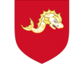 Arms of family James, Barons Northbourne.png