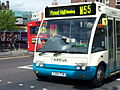 Arriva North East bus 2504 (Y293 PDN) 2001 Optare Solo M850, Newcastle, 9 May 2009.jpg