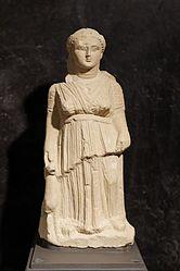 anonymous: Artemis holding a doe
