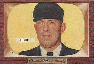Artie Gore American baseball umpire