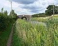 Ashby Canal and Bates Wharf Bridge - geograph.org.uk - 931492.jpg