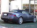 Aston Martin DB9 Volante 2007 (14185077533).jpg