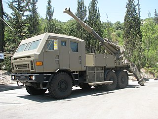ATMOS 2000 155mm self propelled howitzer