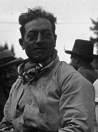 Attilio Marinoni - Attilio Marinoni at the 1929 24 Hours of Spa