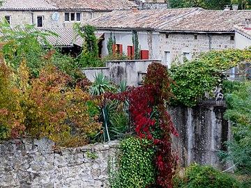 Aubenas, Ardèche, France. Grange du Cheylard. 02.jpg