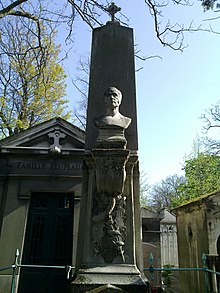 Aubers Grab auf dem Friedhof Père Lachaise in Paris (Quelle: Wikimedia)