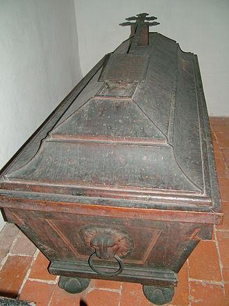 Joseph Franz Auersperg - Auersperg's coffin in Passau