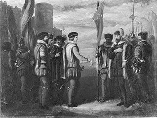 Anno 1586. De aankomst van Leicester te Vlissingen