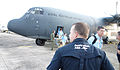 AusMAT MCT keeping watch of disembark Mactan airport Cebu 13 Nov (10865125836).jpg
