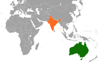 Diplomatic relations between Australia and the Republic of India