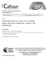 Authoritarianism as a driver of U.S. foreign policy- the cases of Myanmar, Vietnam, and North Korea (IA authoritarianism1094551569).pdf