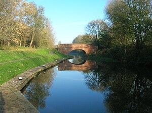 Aylestone - Image: Aylestone Meadows canal bridge