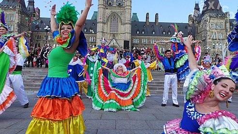 da0f26fb72 Carnaval de Sinaloa por el Ballet Aztlan en Ottawa