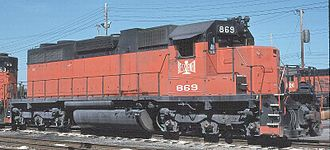Bessemer and Lake Erie Railroad - Image: B&LESD38AC869