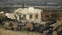 Böcklin Zerstörtes Haus bei Kehl 1870.jpg