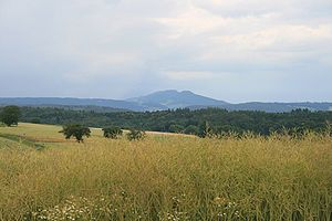 Aargau - View of the Lägern from Bözberg