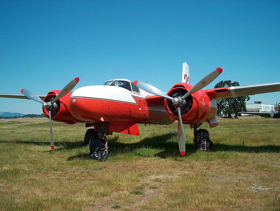 B-26 water bomber