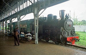 Ambarawa Railway Museum - B2502, one of the three locomotives that are still active