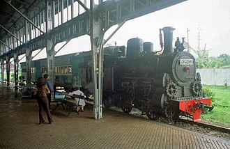 0-4-2 - B25-02 Steam Locomotive at Ambarawa Railway Museum