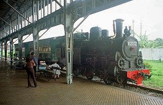 0-4-2 - B25-02 Steam Locomotive at Ambarawa Railway Museum