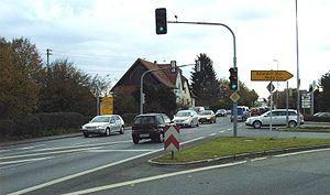 Bundesstraße 30 - B30 in Gaisbeuren