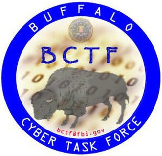 FBI Buffalo Field Office - Buffalo Cyber Crime Taskforce logo