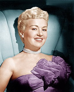 Betty Grable American actress, pin-up girl, dancer, model, and singer