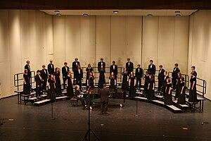 Chamber choir - .The Bentonville High School Chamber Choir in 2009.
