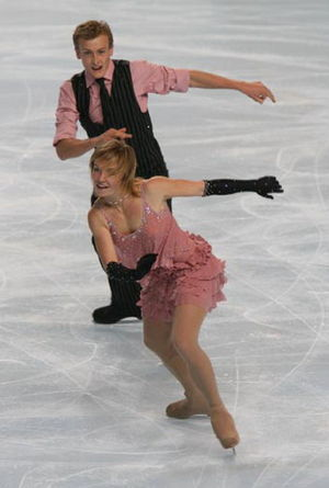 Pierre-Loup Bouquet - Blanc and Bouquet at the 2008 Trophée Eric Bompard