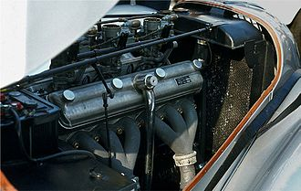 BMW 328 - Image: BMW 328 6 Zylinder Motor