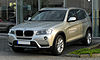 BMW X3 xDrive20d (F25) – Frontansicht, 8. April 2011, Mettmann.jpg