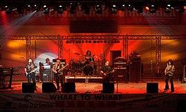 Blue Öyster Cult live, Santa Cruz Beach Boardwalk, Kalifornien (Juli 2008)