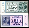BOH&MOR-4-Protectorate of Bohemia and Moravia-5 Korun (1940)ND.jpg