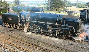 BR Standard 9F No 92212 at Ropley yard.jpg