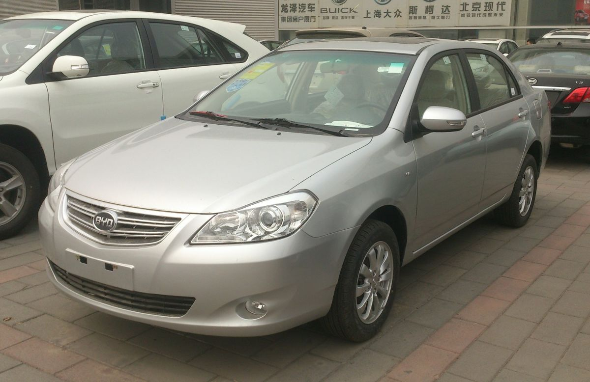 Gs Auto Sales >> BYD G3 - Wikipedia