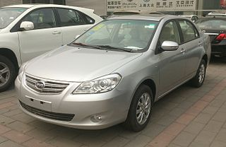 BYD G3 enlarged version of the BYD Autos compact BYD F3