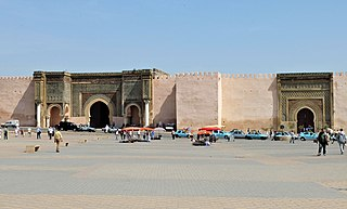 Kasbah of Moulay Ismail Historic palace complex in Meknes, Morocco