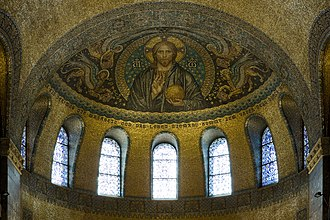 Church of the Redeemer, Bad Homburg - Pantocrator in the apse vault