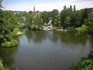 Luisesee in Bad Elster